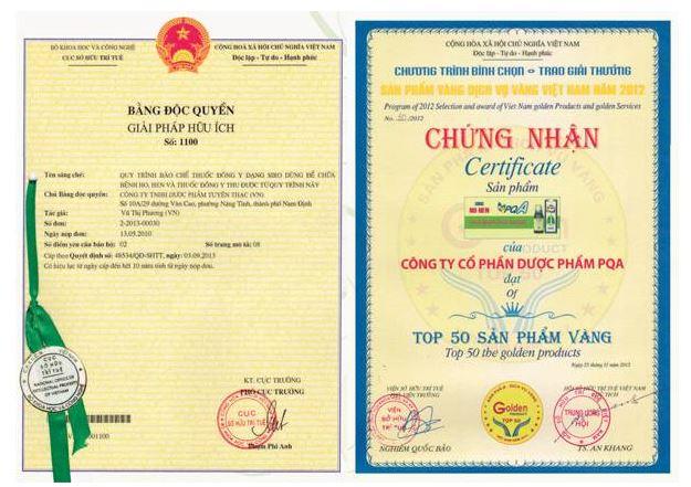 PQA Top 50 sản phẩm vàng - dịch vụ tin cậy