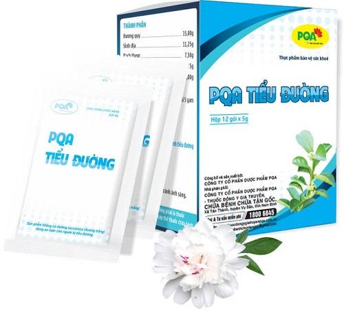Giúp ổn định đường huyết. Giảm nguy cơ biến chứng của bệnh tiểu đường. 100% thảo dược, an toàn cho người tiểu đường.