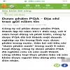 pqa hen trẻ em của công ty dược phẩm pqa