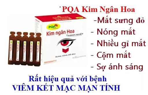 PQA Kim Ngân Hoa - Viêm Kết Mạc