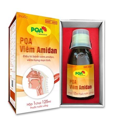 thuốc pqa viêm amidan